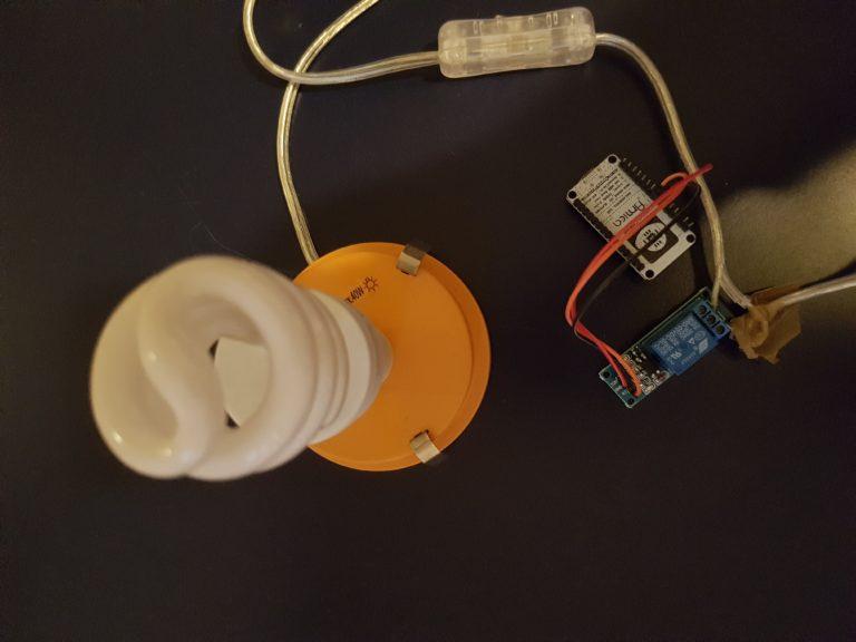 Nodemcu Light Control using Nodejs SSDP