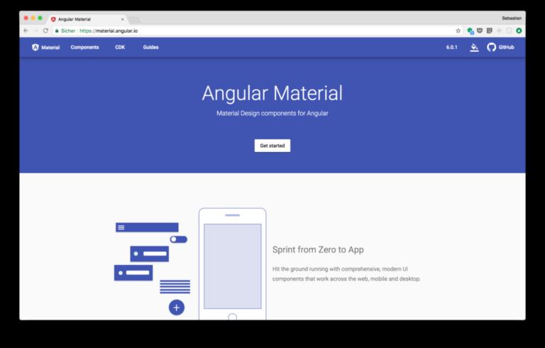 Angular 6 Material – MatDatePicker italian format dd/MM/yyyy