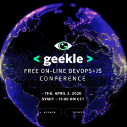 Geekle.us – Free Online Tech Conference 2 April 2020
